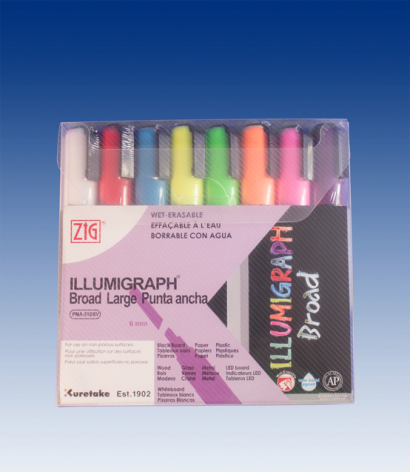 1 set med 8st Illumigraph 6mm